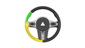 Simulation-driven design of a steering wheel with polyurethane foam manufacturing analysis.