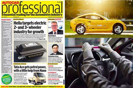 Autocar Professional's December 1 issue is about industry changing dynamics