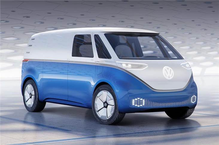 The Buzz ID Cargo van will use the MEB platform