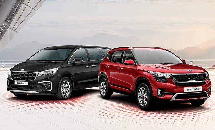 The speedy run to 100,000 sales in 11 months comprise 97,745 units of the Seltos SUVs and 3,614 Carnival MPVs.