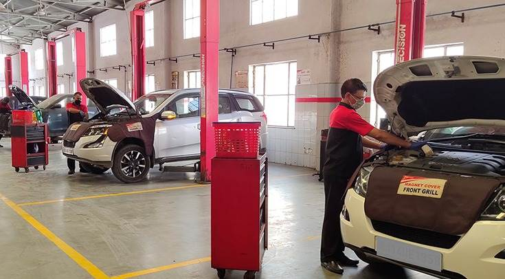 The M-Plus Body & Paint Clinic, a specialised service camp for Mahindra passenger vehicles is underway at all company authorised service centres across India from today till October 18.