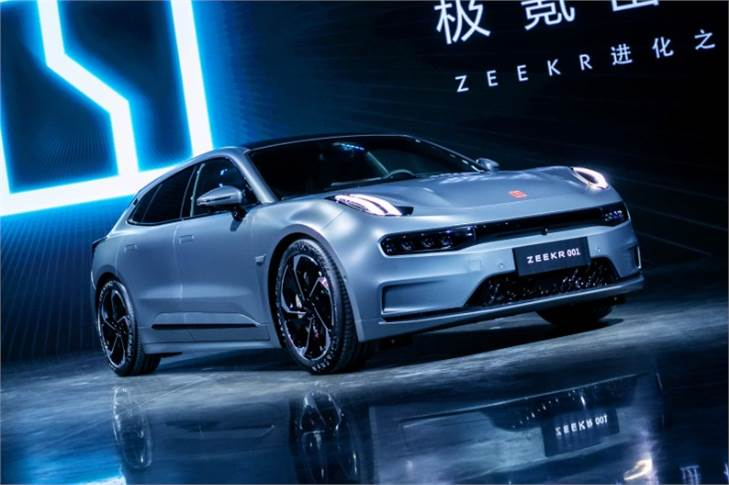 Zeekr is a brand-new, premium-focused brand owned by Geely. The company says the 001 will be delivered to customers in China from October this year ahead of a global roll-out in 2022.