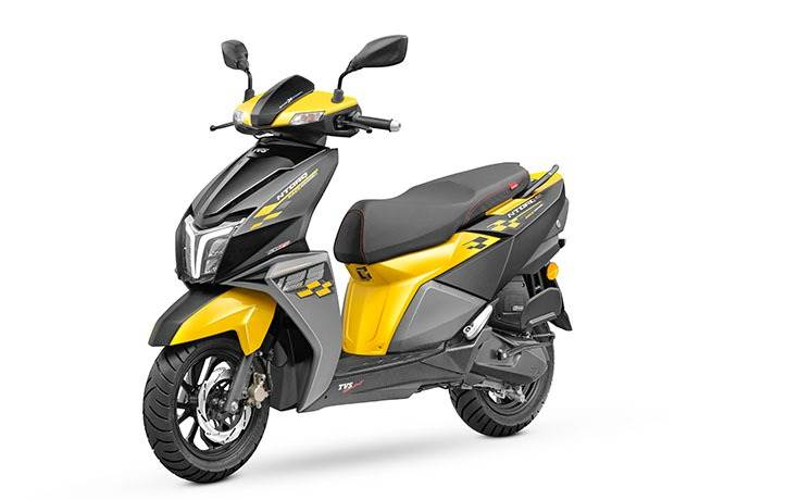 In August 2020, TVS introduced a new colour for the NTorq 125 Race Edition – Yellow & Black.