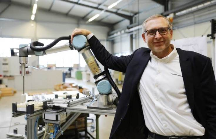 """Jurgen Von Hollen: """"We have worked very hard to develop an entirely new market segment with a mission to enable especially small and medium-sized companies to automate tasks they thought were too costly or complex."""""""