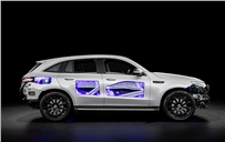 Mercedes-Benz makes electric mobility transparent with cutaway model
