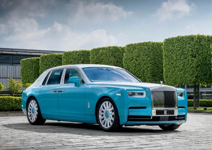 The Phantom retains its place as the luxury carmaker