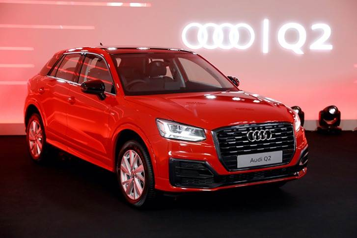 The Q2 is Audi's new entry-level model in India. The 5-seat crossover, priced at Rs 34.99 lakh (ex-showroom, India), develops 190hp and 320Nm from a 2.0-litre TFSI turbo-petrol engine.
