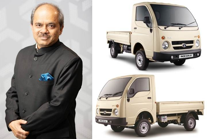 """Vinay Pathak, VP, Product Line – Small CV Business Unit, Tata Motors: """"The petrol engine is far peppier (than the Ace diesel engine), its gradeability, drive and NVH level are much better too. Ccustomers are really loving to drive a petrol CV."""""""