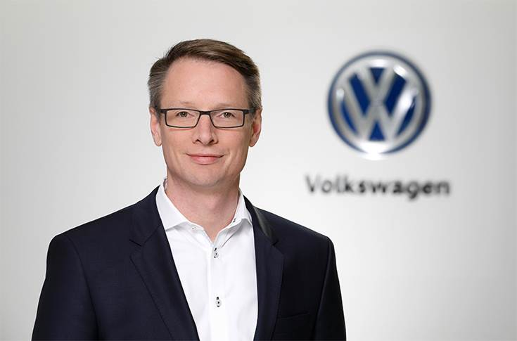Christoph Hartung, head of Mobility Services of the Volkswagen Passenger Cars brand and head of digital sales and new business of the Volkswagen Passenger Cars brand