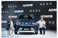 Maruti Suzuki launched the facelifted Ignis hatchback available in seven variants and pricing starts from Rs 489,000.