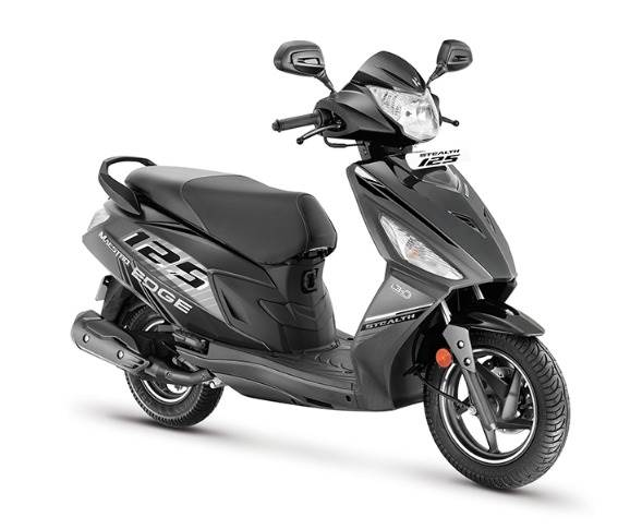 The Stealth Edition Maestro Edge 125 was the first launch of October, priced at Rs 72,950, ex-showroom, Delhi. With revised styling and body graphics, it is powered by a 125cc BS VI-compliant FI engine that produces 9bhp and 10.4Nm.