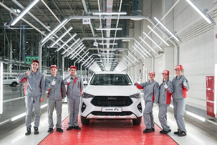 HAVAL F7 Being off the Assembly Line in GWM
