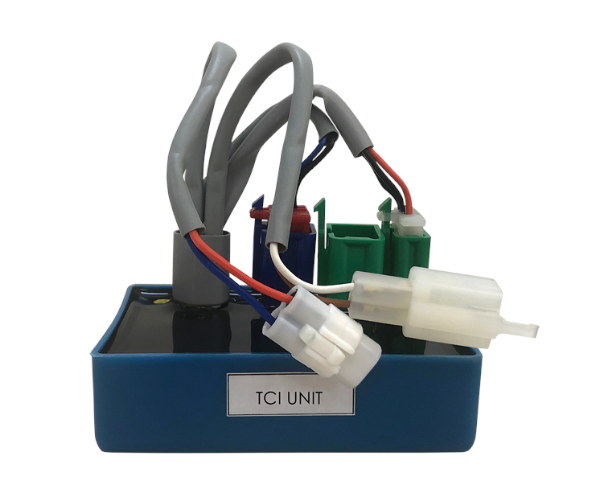 Spark Ignition Controllers – TCI (Transistorised Controlled Ignition) and CDI (Capacitor Discharge Ignition) – which can be used 2- and 3-wheelers, stationary petrol engines and and lawn mowers