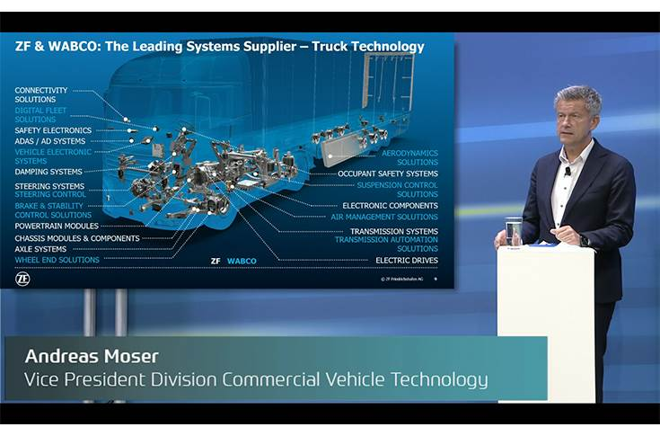 "Andreas Moser: ""When it comes to transformative solutions for the next generation of commercial vehicles, we are at full speed."""