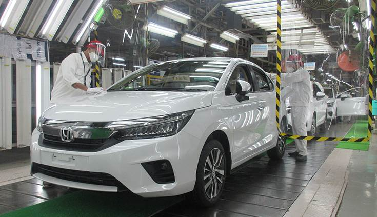 New Honda City Begins Rolling Out From Greater Noida Plant
