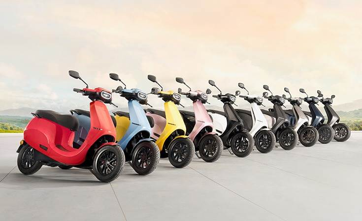 On July 22, Ola announced that its e-scooter will be available in 10 colour options – both bright and dark – which makes it the widest range of options available from any electric two-wheeler OEM.