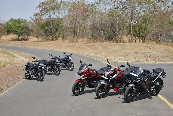 The Bajaj Pulsar range has recorded robust numbers. The 95,509 units sold in October are a 40% increase over September