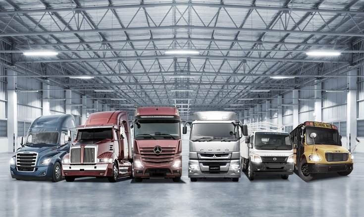 In the first 11 months of 2019, cumulative sales of 446,800 units by the Mercedes-Benz, FUSO, Freightliner, Western Star, Thomas Built Buses and BharatBenz were 4 percent lower than in the previous year (January to November 2018: 466,900).