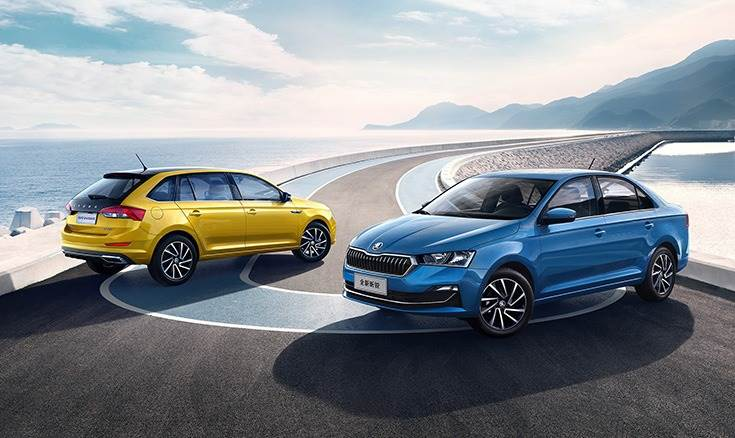 The Rapid and Rapid Spaceback were developed in close collaboration between Skoda and its  joint venture partner SAIC Volkswagen in Shanghai.