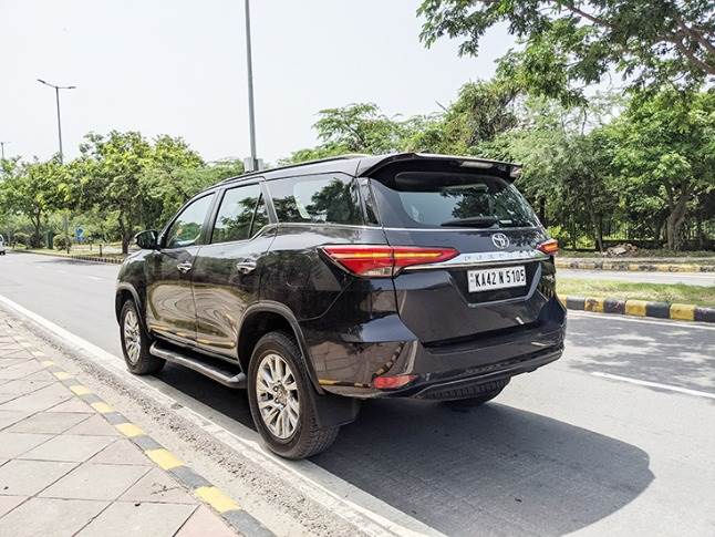 Back to the future: Sleek LED tail-lights give a contemporary touch to second-generation Fortuner.