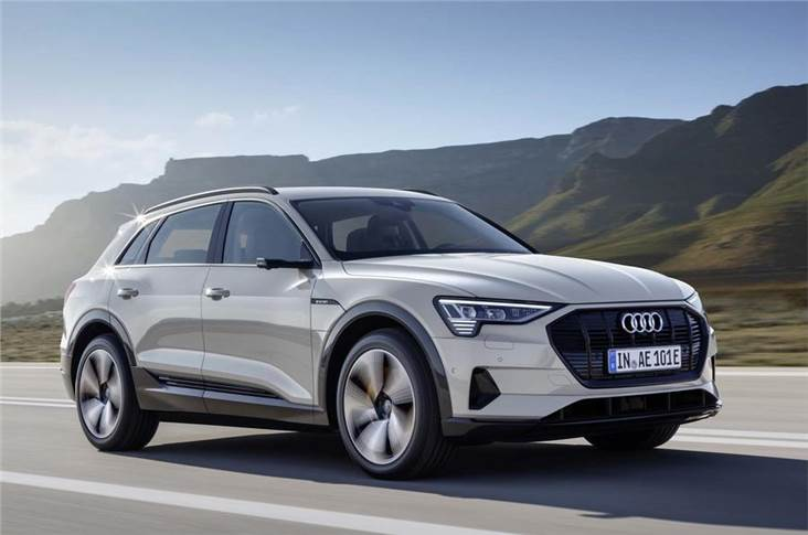 The recently revealed Audi E-tron