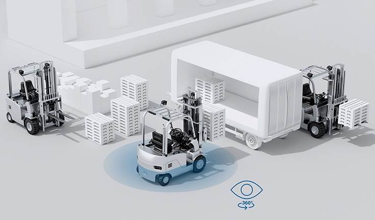 Bosch says it has already started development of the collision warning function and will be presenting the initial results of this work at LogiMAT 2020. The market launch is planned for 2021.