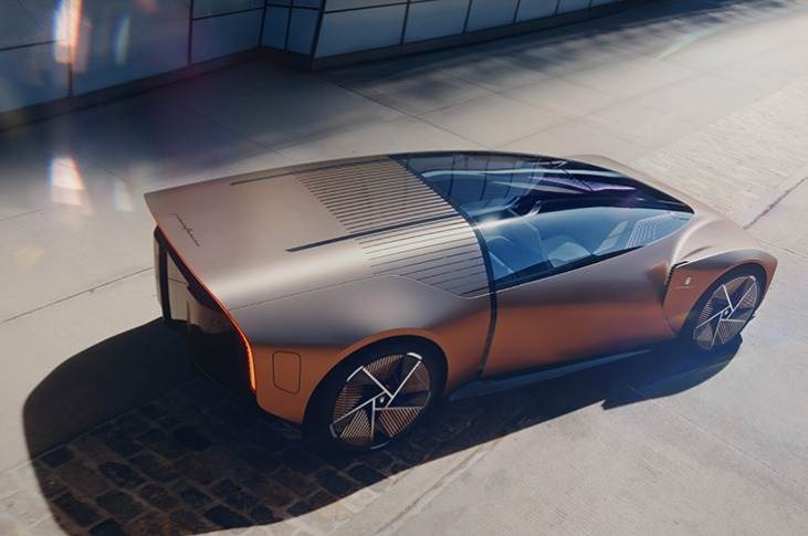 """Teorema designed to """"give people back the pleasure of living the car, driving and travelling, without the frustrations of increased congestion and other compromises, all while integrating AI, 5G and the latest technology."""""""