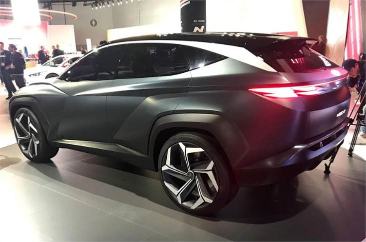 The Hyundai Vision T Plug-in Hybrid is an 'eco-focused' compact SUV