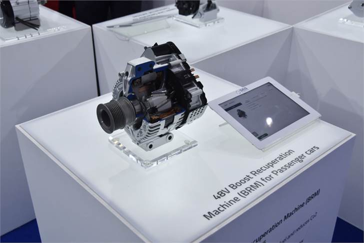 SEG Automotive India launched its 48V Boost Recuperation Machine (BRM) mild-hybrid system last year.