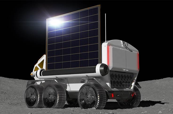 In 2022, they plan to manufacture and evaluate a 1:1 scale prototype rover; acquisition and verification testing of data on driving systems required to explore the moon's polar regions.