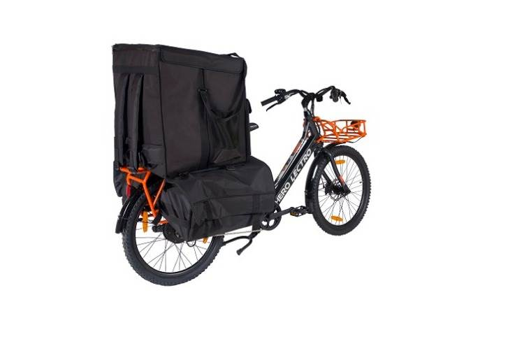The Hero Lectro Winn offers 180-litres of goods storage space, hassle-free charging with a swappable battery, and a top speed of 25kph.