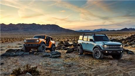 Ford Bronco returns as flagship of new 4x4 family