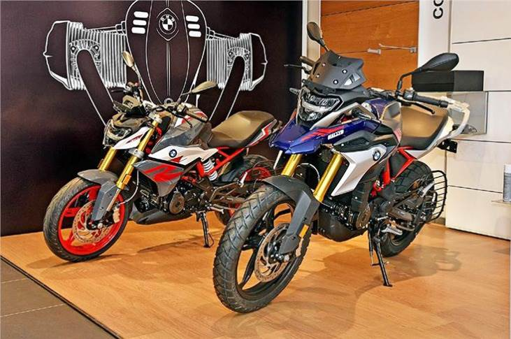 In CY2020, 80 percent of the total sales (or an estimated 2,050 units) comprised the newG 310 R andG 310 GS.