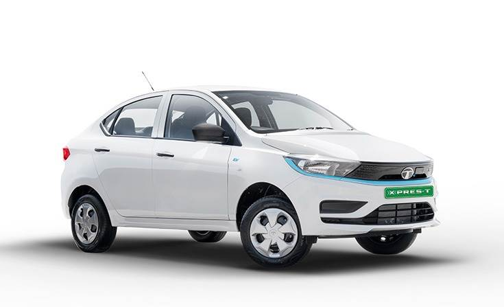 Outgoing low-power Tigor EV rebranded as Xpres T and targeted at fleet buyers.