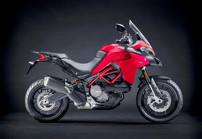 Ducati Multistrada 950 S's BS6-compliant, 937cc, Testastretta L-twin engine develops 113hp at 9,000rpm and 96Nm of torque at 7,750rpm