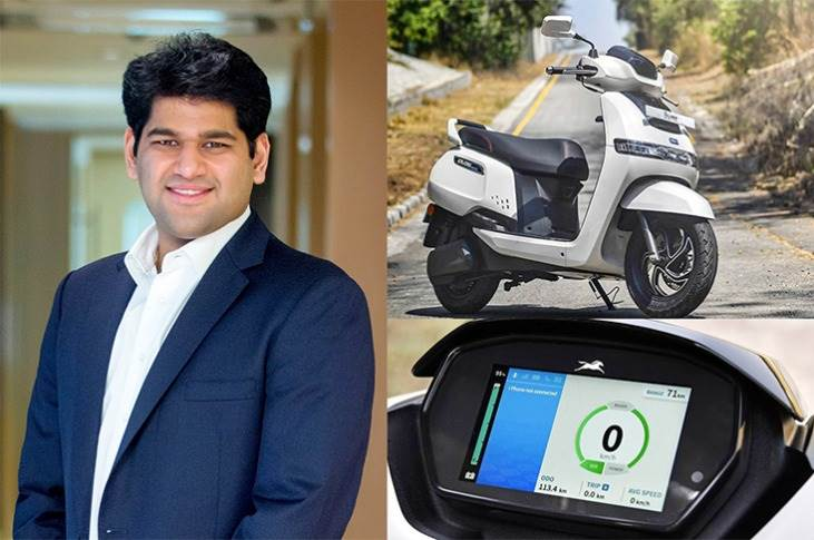 """Sudarshan Venu, Joint MD, TVS Motor Co: """"We envisage a wide and reliable charging infrastructure for two and three-wheeler EV customers across India."""""""