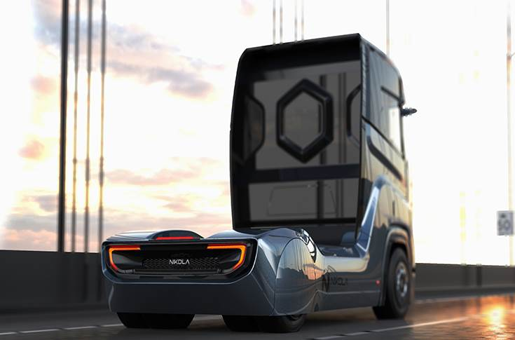 The truck will come with redundant 800Vdc batteries and a redundant 120 kW hydrogen fuel cell