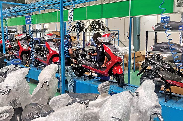 Start-up machine revs up in NCR, from e-scooters to a fuel delivery module