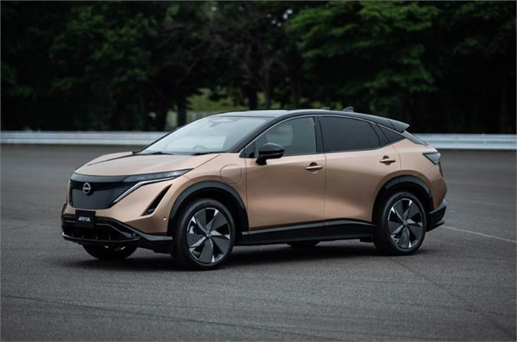 Nissan's new electric SUV will take on the similarly sized VW ID 4