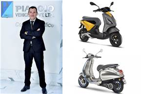 """Diego Graffi: """"We will enter the electric two-wheeler space (in India) with a product that will provide us a competitive advantage in terms of customer experience for the next 5-6 years."""""""