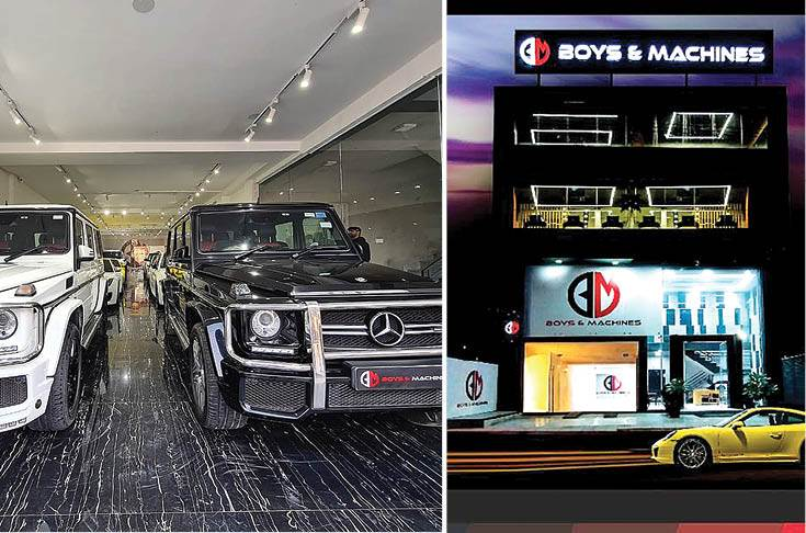 Boys and Machines takes a speedy ride with pre-owned luxury cars