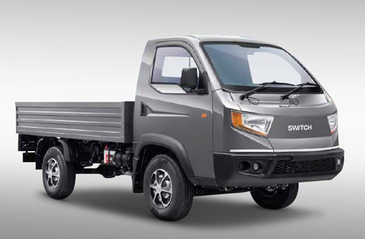 The 23kW-powered electric version of Bada Dost LCV can do up to 150km on a single charge (non-AC) with 1,300kg payload and GVW of 3490kg.