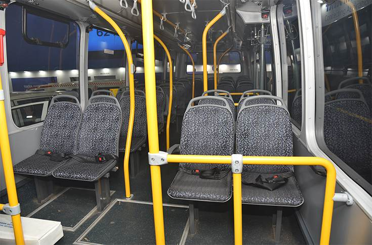 Tata Ultra Electric seats
