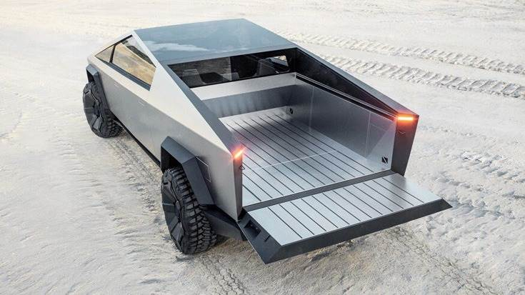Cybertruck can tow 3,400kg, with a 1360kg payload