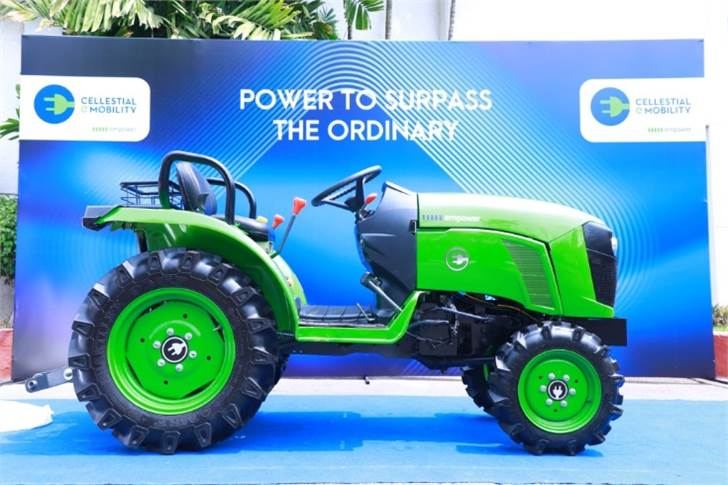 Cellestial E-Mobility is targeting to price the e-tractor around Rs 500,000, which it says will be significantly lower than its diesel counterpart.