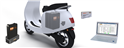 For electric two-wheelers, Forsee Power's solutions include battery, portable chargers, smart kit for diagnostics and switching box, a tool that allows extension of battery power.