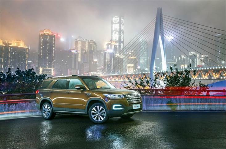 Changan is one of many Chinese makers involved in China