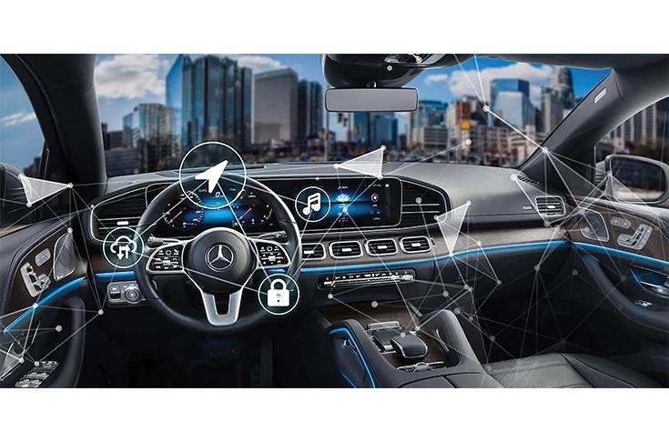 While physical components remain constant, connected technologies in the interior, and under the hood, will play crucial roles in helping keep models afresh in a fast changing market and in customers