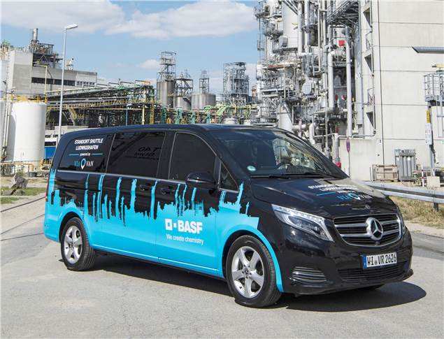BASF is to soon introduce an on-demand ridesharing system at its Ludwigshafen facility.