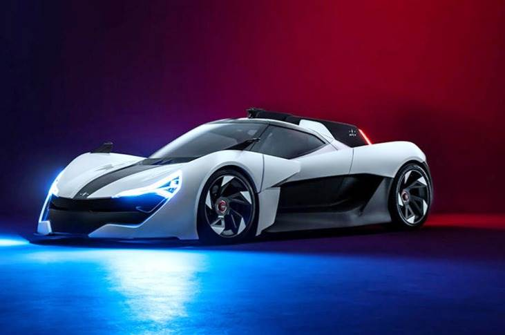 AP-0 is a zero-emissions sports car, not a hypercar - a distinction its makers are keen to emphasise.